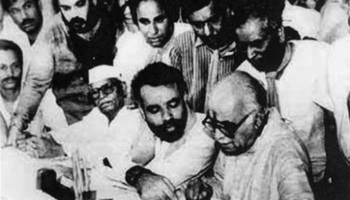 Amit shah and modi in young days