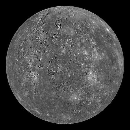 Mercury suface, budh grah