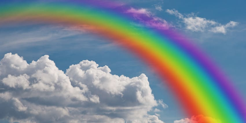 GK questions for kids about Rainbow