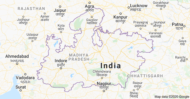 MP map: MP me kitne jile hai, List of Districts in MP