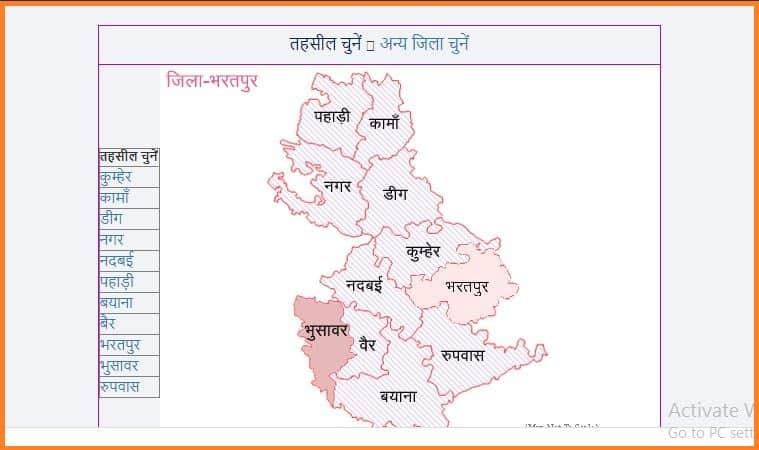 Download Bhu Naksha at Rajasthan Apna Khata