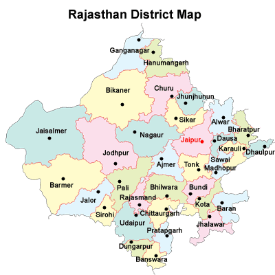 districts in Rajasthan